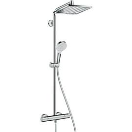 HANSGROHE Crometta E Showerpipe 240 1jet mit Thermostat chrom 27271000