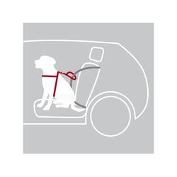 TRIXIE Autohundegeschirr Auto Sicherheitsgeschirr Hund Dog Protect, Nylon L