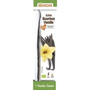 Biovegan Vanille Bourbon 1er Schote bio