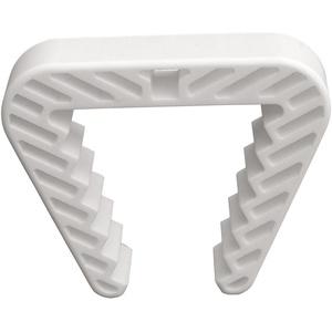 Danto 3 Stück Spar Pack Fensterklammer, Fensterstopper für Rahmenstärke 3,0 bis 5,0 cm, weiß