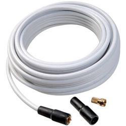 Vivanco 44062 Koaxialkabel 75Ω 110 dB Weiß 1 Set