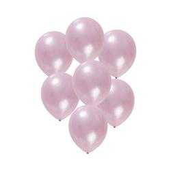 Folat Luftballon Luftballons metallic rot 30 cm, 50 Stück rosa
