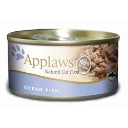 Applaws Katzen Nassfutter in der Dose mit Seefisch 70g