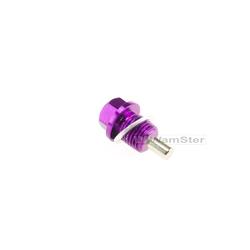 M14 x1,5 Magnet Ölablassschraube Öl Ablassschraube Violett