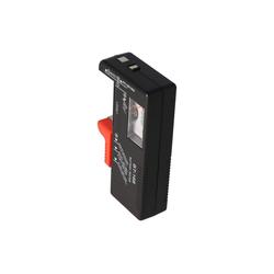 AccuCell Batterie-Tester für AA, AAA, AAAA, C, D, 9V Batter Batterie