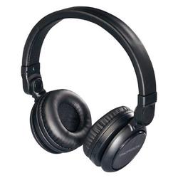 Hama Hama Thomson On-Ear Bluetooth Headset 3,5mm Aux-Eingang kompatibel mit Smartphones Android & iOS Schwarz Wireless-Headset