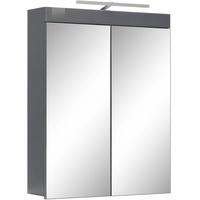60 cm mit Beleuchtung 1100-229-00 grau