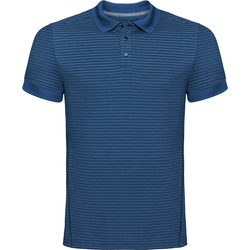 Odlo Nikko Dry s/s Men Poloshirt ensign blue-faded denim stripes