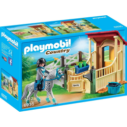 Playmobil® Konstruktions-Spielset Pferdebox Appaloosa (6935), Country, Made in Germany