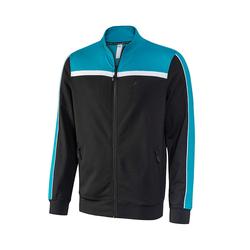 Sportjacke HENRIK JOY sportswear black/smaragd
