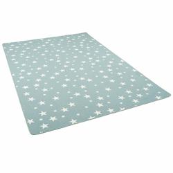 Kinderteppich Kinder Spiel Teppich Sterne, Snapstyle, Höhe 5 mm 200 cm x 200 cm x 5 mm