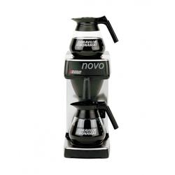 Kaffee-/Teemaschine NOVO mit 1 Brühsystem und 2 Warmhalteplatte