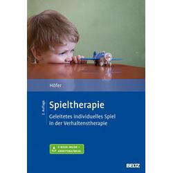 Spieltherapie: Buch von Silvia Höfer