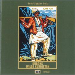 Durchs wilde Kurdistan. MP3-CD als Hörbuch CD von Karl May