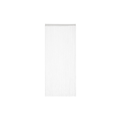 Fadenvorhang Fadenvorhang weiß, relaxdays 90 cm x 245 cm