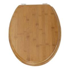 WENKO WC-Sitz Bambus