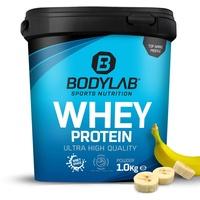 Bodylab24 Whey Protein Banane Pulver 1000 g