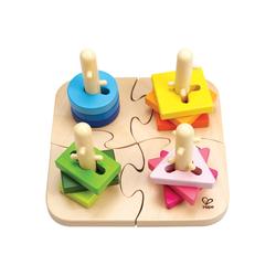 Hape Steckspielzeug bunt Kinder Holzspielzeug
