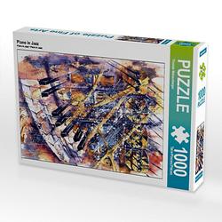 Piano in Jazz Lege-Größe 48 x 64 cm Foto-Puzzle Bild von Thomas Weisenberger Puzzle