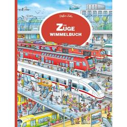 Züge Wimmelbuch: Buch von