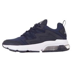 Kappa YAKA Sneaker mit durchsichtigem Luftkissen in der Sohle blau 39