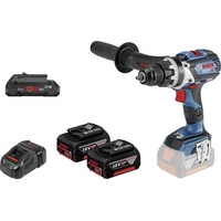 Bosch GSR 18V-85 C Professional inkl. 2 x 5,0 Ah + 1 x 4,0 Ah + L-Boxx (0615990K7P)