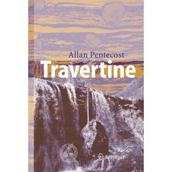 Travertine als Buch von Allan Pentecost