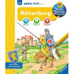Ritterburg WWW aktiv-Heft: Buch von