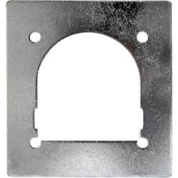 HP Autozubehör 25275 Gegenplatte Zurr-Ring (L x B) 120mm x 115mm