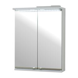 Szafka łazienkowa Isme dwudrzwiowa 50 cm z oświetleniem LED
