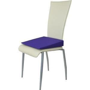 Orthopädisches Keilkissen Sitzkeilkissen Sitzkissen Sitzhilfe Kissen, violett
