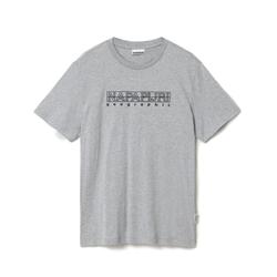 Napapijri Sebel SS - T-shirt - Herren Grey M