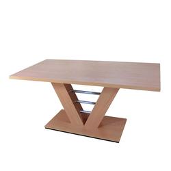 V Esstisch in Buche 160 cm breit