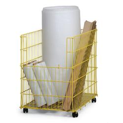 Verkaufskorb mit tür, 800x600x800 mm