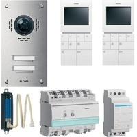 Elcom Video-Türsprechanlage Esta Set VSZ-2EM UP 2WE 1087628