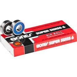 Bones® Super Swiss 6 Skateboard Bearings 8er Pack