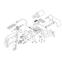 PROXXON 24004-01-76 Motorbefestigungsplatte PD 230/E ab Seriennummer 16149