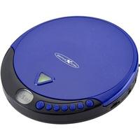 Reflexion PCD510MF Tragbarer CD-Player CD, CD-R, CD-RW, MP3 Blau
