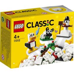 LEGO® Puzzle LEGO® Classic 11012 Kreativ-Bauset mit weißen Steinen, Puzzleteile