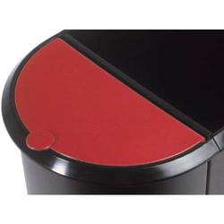 Deckel für Duo-Papierkorb rot