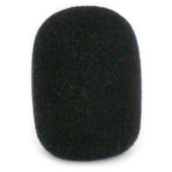 Cardo G9X / G9 / Q3 / Q1 / Qz Microphone Sponge for Boom Microphones, black, Größe One Size