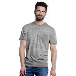 Flammgarn-Shirt Engbers Zementgrau