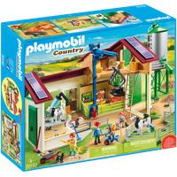 Playmobil Country Großer Bauernhof mit Silo 70132