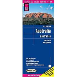 Reise Know-How Landkarte Australien / Australia / Australie - Buch