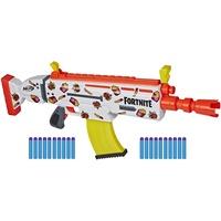 Hasbro Nerf Fortnite AR-DURRR Burger Blaster inkl. Sticker zum Anpassen und 20 Nerf Darts