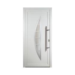 JM Signum PVC Model 28, innen: weiß, außen: weiß, Breite: 88cm, Höhe: 200cm, Öffnungsrichtung: DIN
