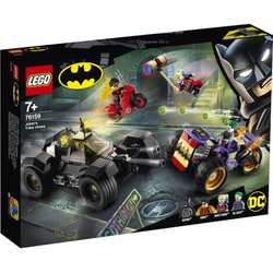 LEGO® Puzzle LEGO® DC Universe Super Heroes 76159 Jokers Trike-Verfolgungsjagd, Puzzleteile