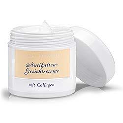 Antifalten-Gesichtscreme mit Collagen