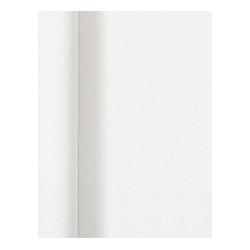 Tischdecke auf Rollen uni white