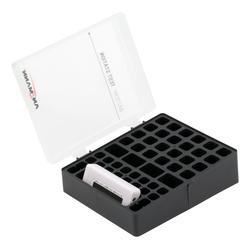 ANSMANN® Batteriebox inkl. Akkutester für AAA Micro, AA Mignon & 9V Block Akkus Akku